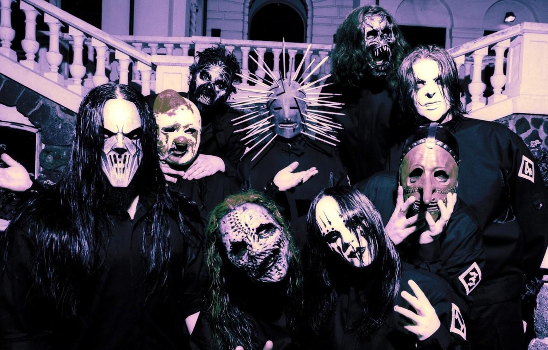 Photo wallpaper Metal, Slipknot, Nu-Metal, Nu metal, Slipnot, Corey Taylor, Jim Root, Paul Gray, Sid Wilson, Mick …