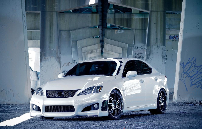 Photo wallpaper Lexus, tuning