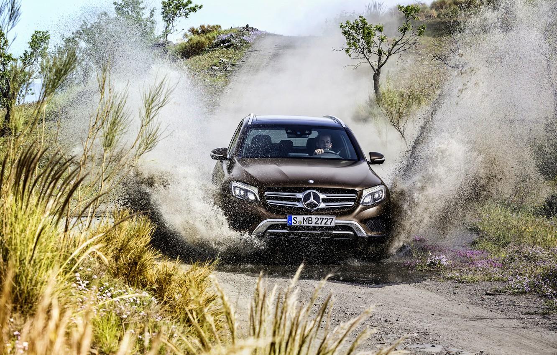 Photo wallpaper Mercedes-Benz, Mercedes, 4MATIC, 2015, X205, GLC 350