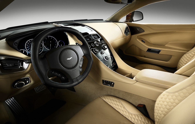 Photo wallpaper machine, auto, Aston Martin, salon, luxury, Vanquish
