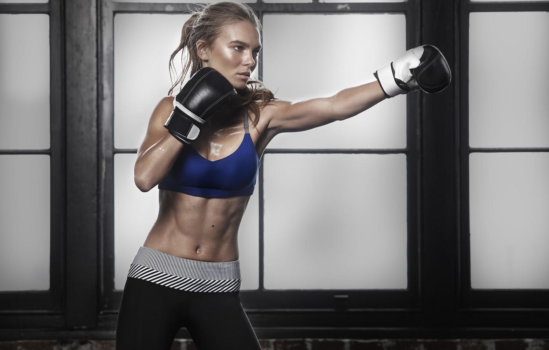Photo wallpaper boxing, workout, boxing gloves, transpiration