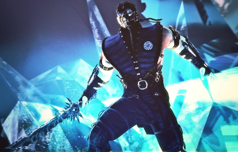 Wallpaper Sword Ice Sub Zero Mortal Kombat X Images For Desktop