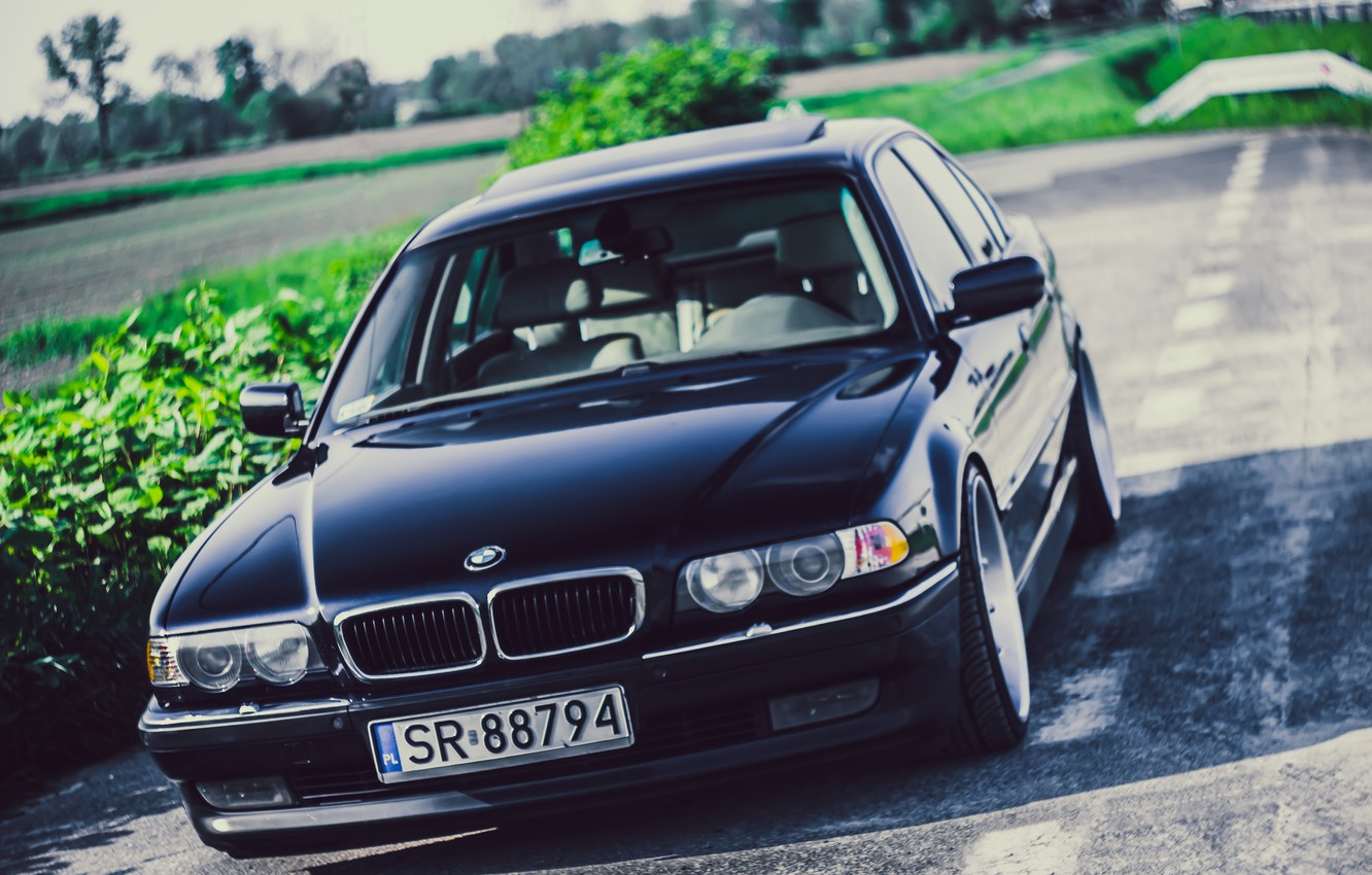 Wallpaper Bmw Boomer Bmw Black Stance E38 Bimmer 740ia Images For Desktop Section Bmw Download
