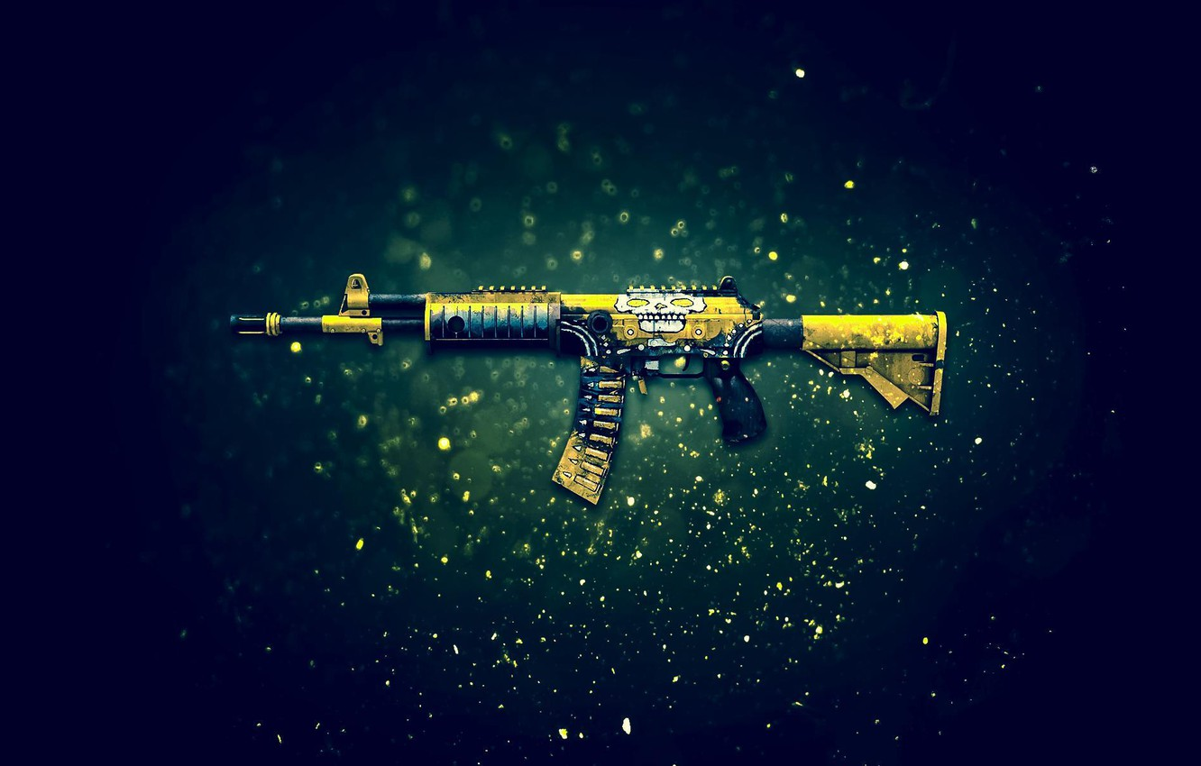 Photo wallpaper Counter-Strike: Global Offensive, CS:GO, the Nutcracker, Galil AR, Chatterbox
