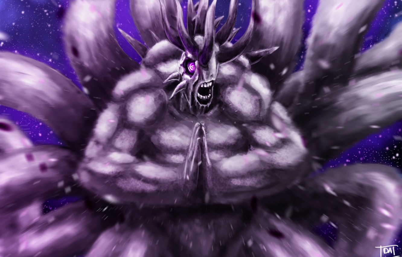 Wallpaper game, Naruto, monster, anime, power, asian, manga