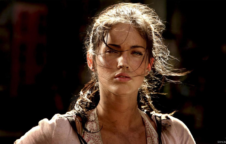 Photo wallpaper look, Megan Fox, fatigue