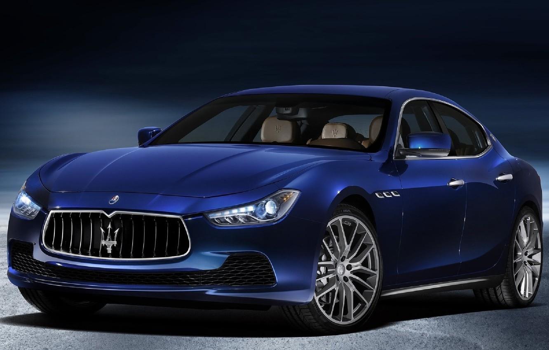 Photo wallpaper Maserati, sedan, Ghibli