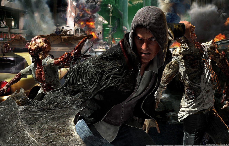 Photo wallpaper fire, war, smoke, Prototype, mutants
