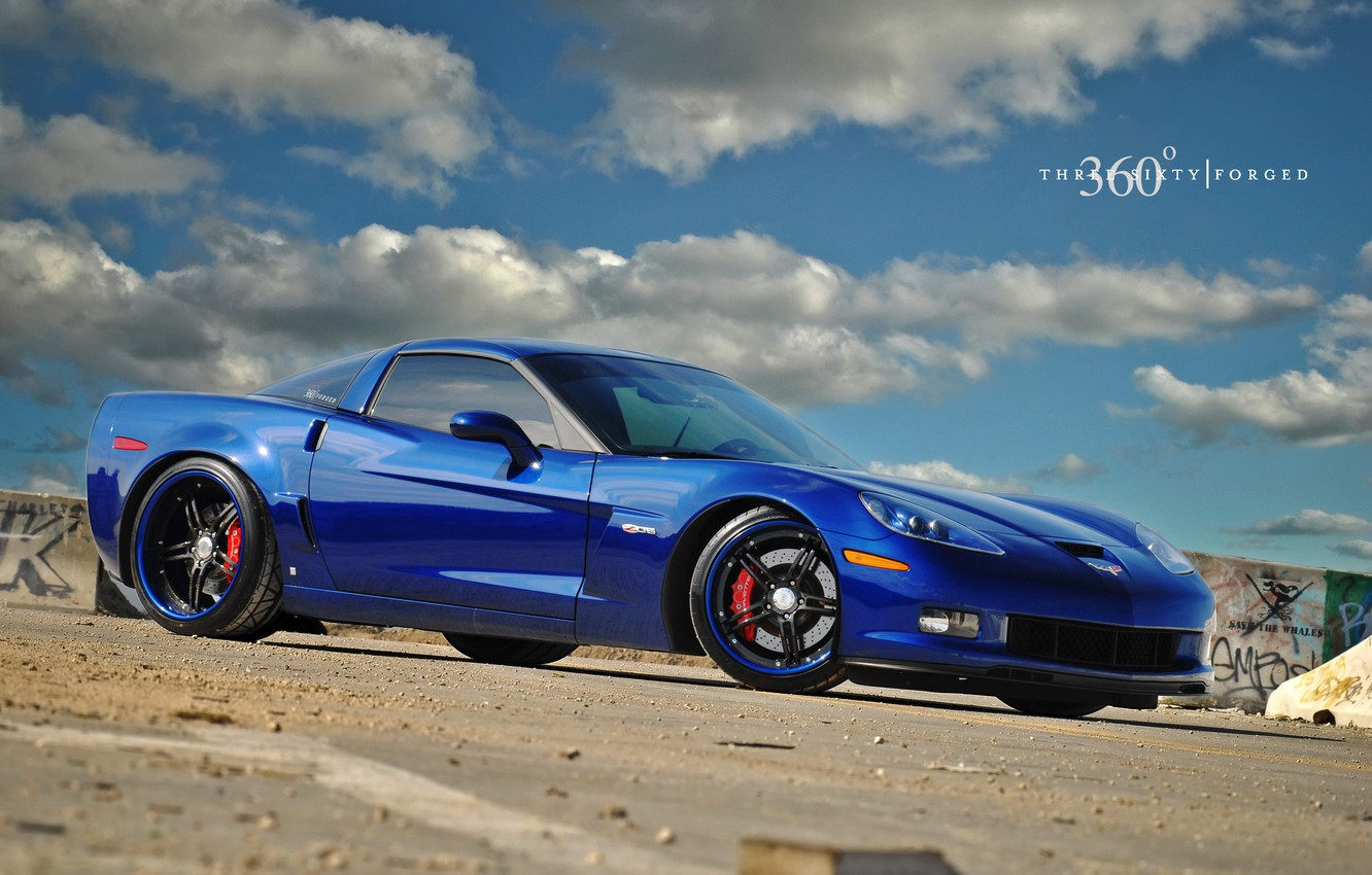 Photo wallpaper Z06, Corvette, CF 5ive, on 360 Forged