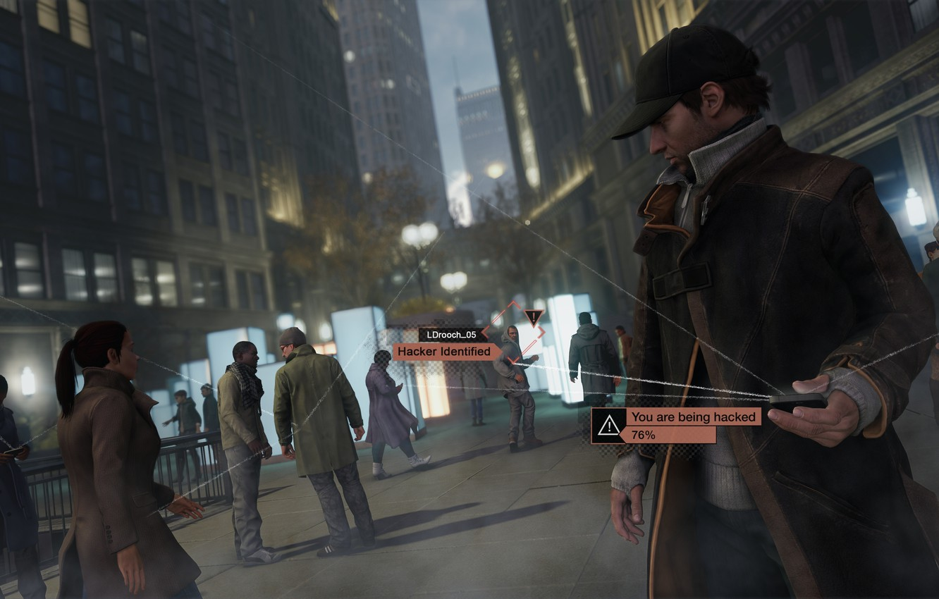Wallpaper Phone Games Ubisoft Watch Dogs Aiden Pearce