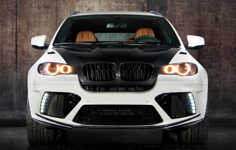 Photo wallpaper white, BMW, BMW, white, carbon, crossover, Mansory