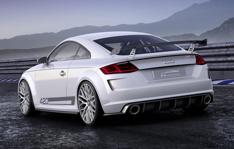 Photo wallpaper Audi, sport, Audi, concept, the concept, sport, rear view, quattro, Quattro