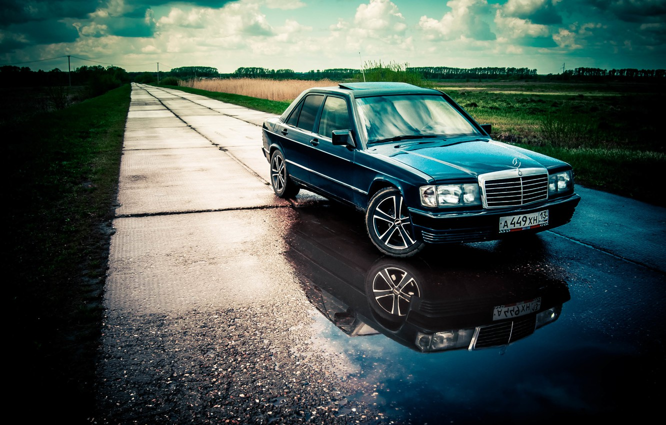 Photo wallpaper mercedes, mercedes-benz, Mercedes, gelding, Mercedes, benz, 190, w201, 190e