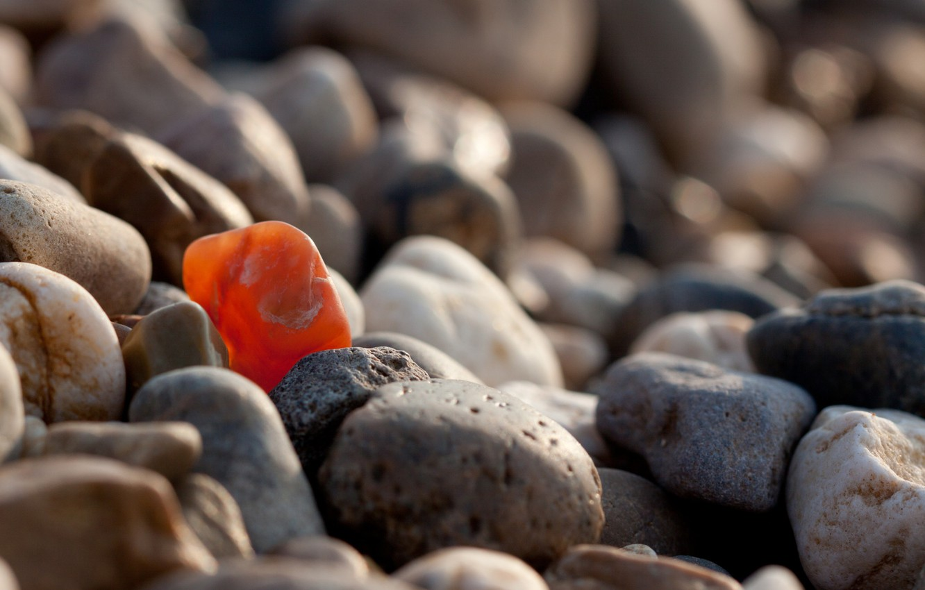 Photo wallpaper pebbles, stones, stones, be special, be special