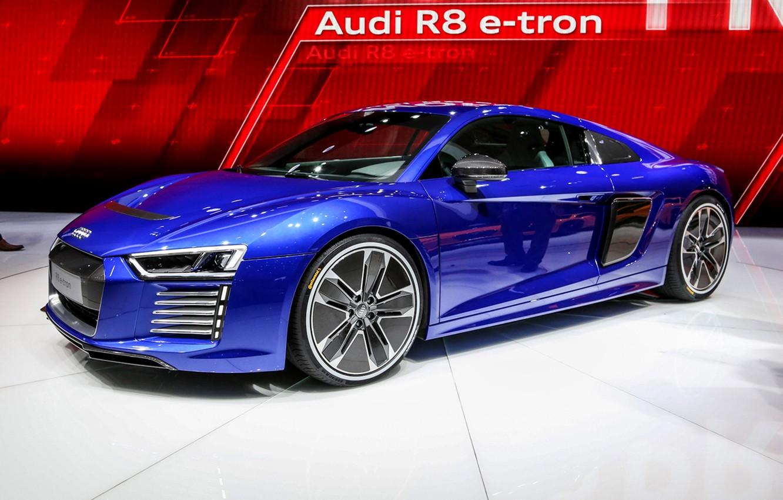 Photo wallpaper Audi, audi, concept, the concept, e-tron, 2015, piloted driving