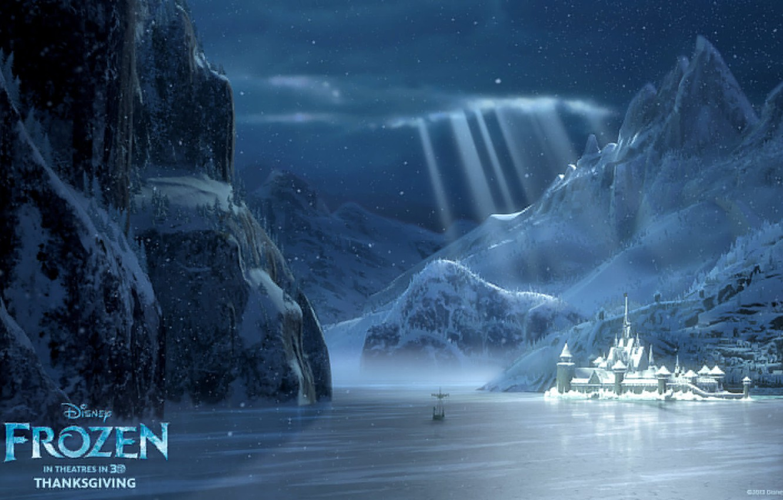 Photo wallpaper Frozen, Walt Disney, 2013, Cold Heart, Animation Studios, arendelle