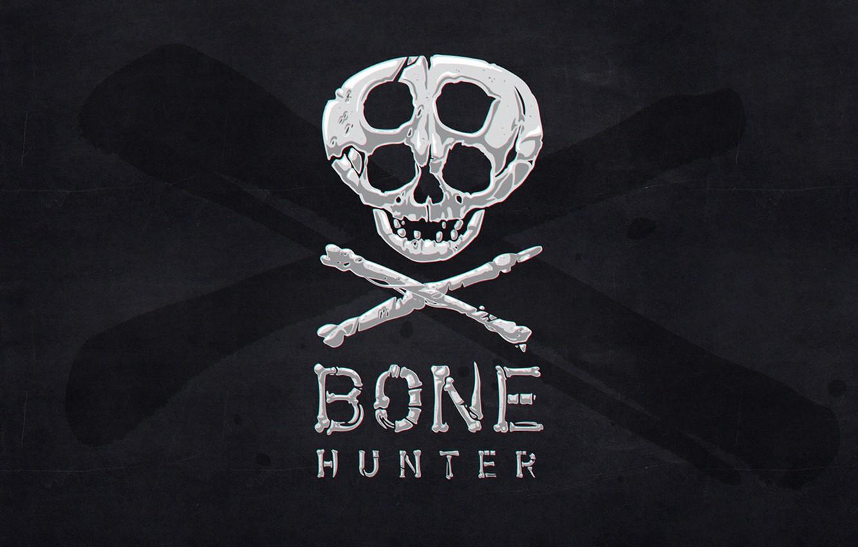Wallpaper Background Black Skull Bones Bone Hunter Images For