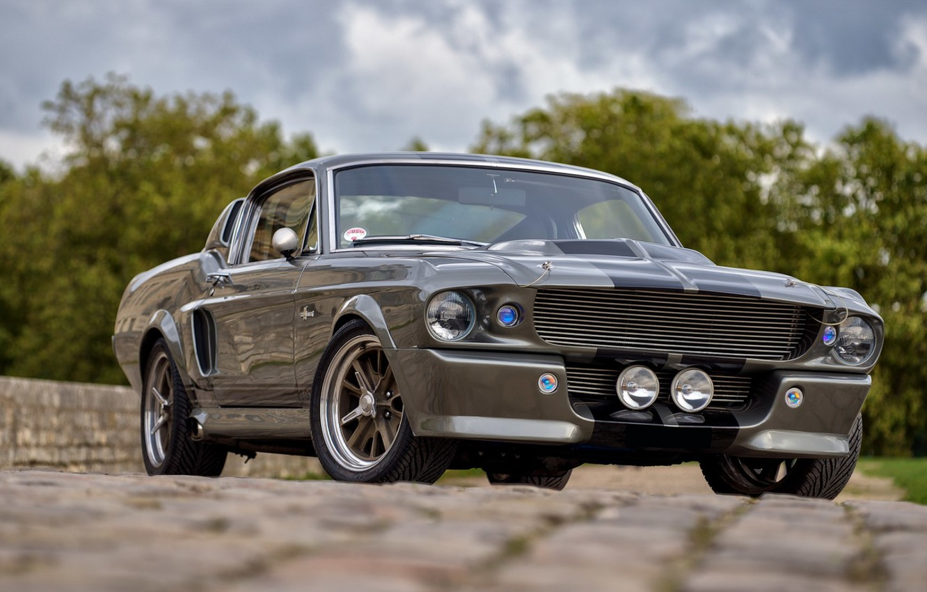 Photo wallpaper Mustang, Ford, Shelby, GT500, USA, Eleanor, Muscle Car, Classic Car