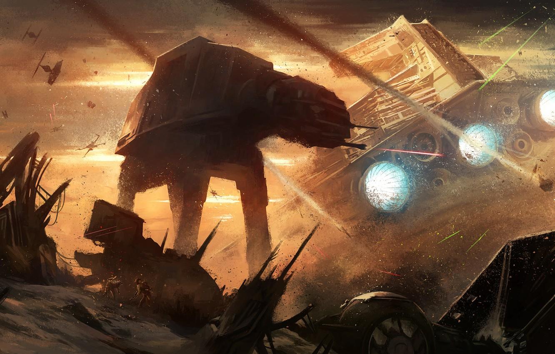 Star Wars Wallpaper Atat