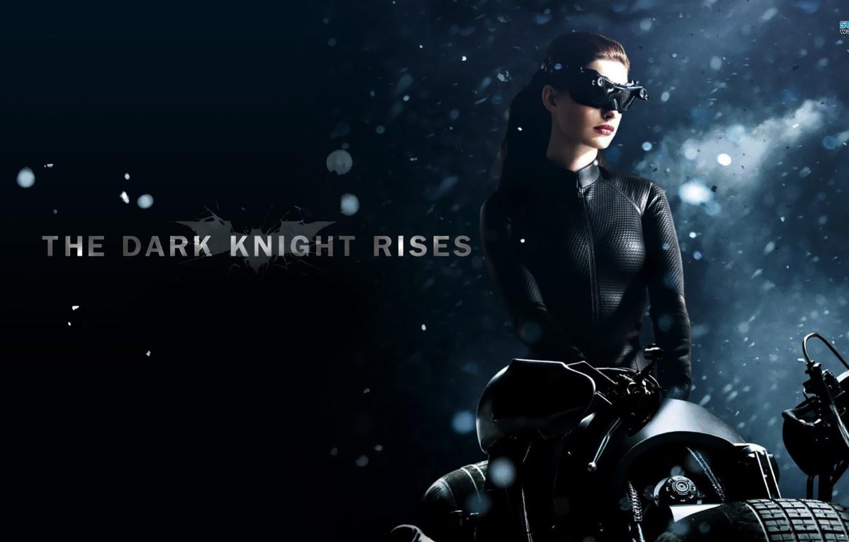 Wallpaper Anne Hathaway Dark Knight Rises Cat Women Bat