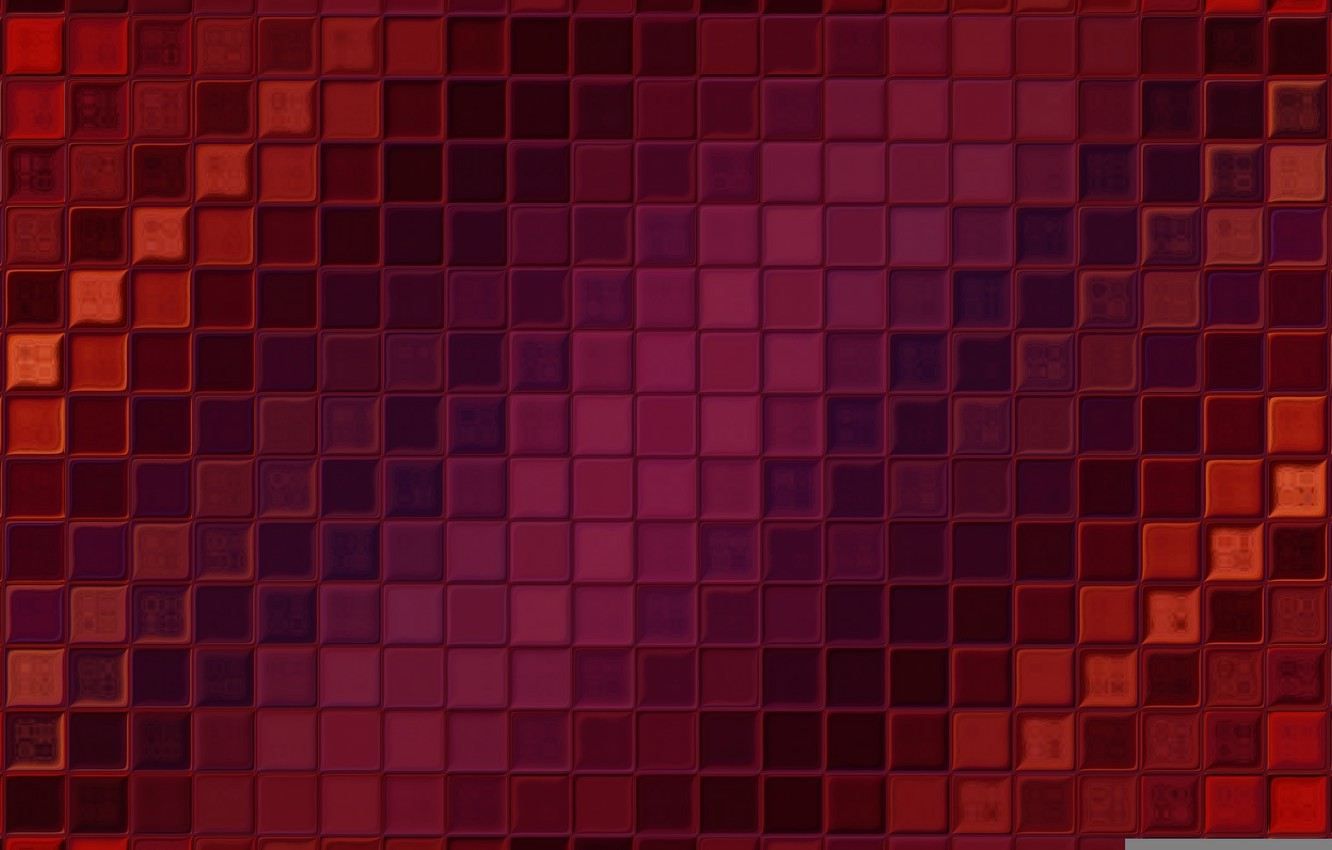 Photo wallpaper light, red, background, Wallpaper, tile, color, texture, square, Mosaic