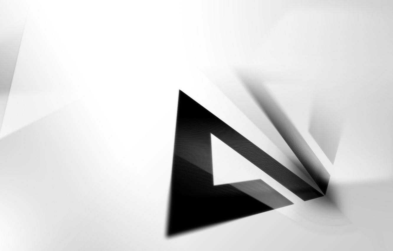 Photo wallpaper Logo, Hi-Tech, AIMP, Minimalism, Artem Izmaylov Media Player