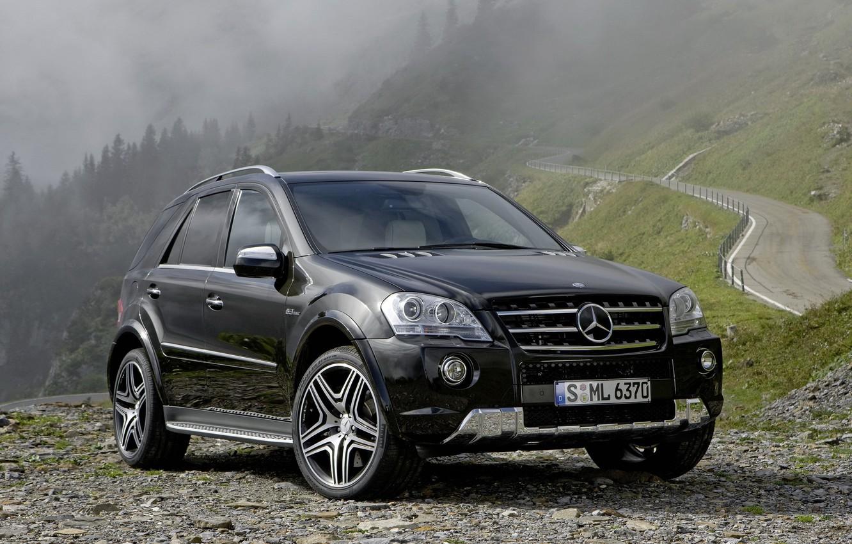 Photo wallpaper Mercedes, Benz