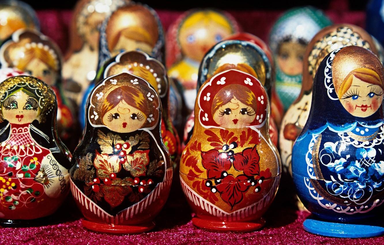 Photo wallpaper toys, dolls, Souvenirs