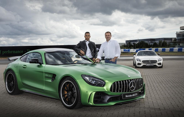Photo wallpaper Mercedes-Benz, Mercedes, AMG, GT3, Lewis Hamilton, Lewis Hamilton, C190