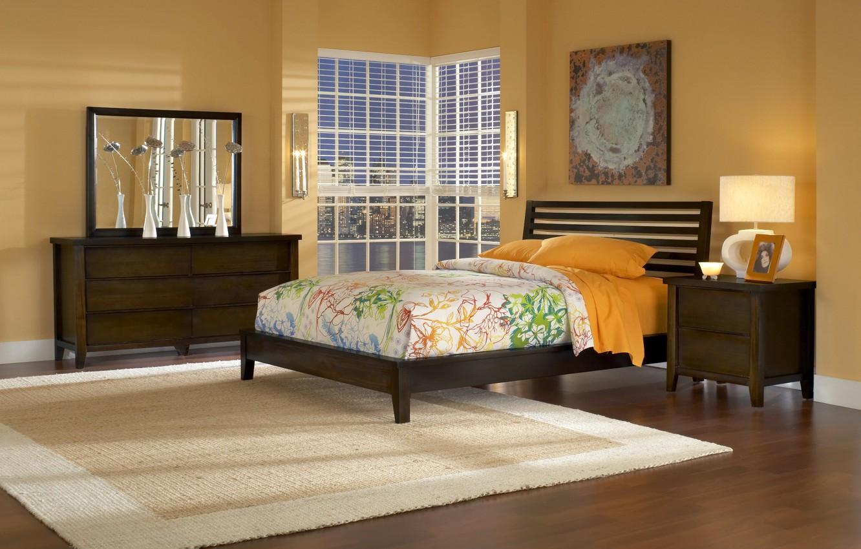 Photo wallpaper design, the city, style, room, interior, bedroom, city apartment