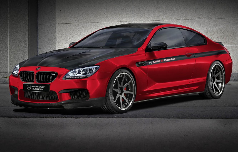 Photo wallpaper car, auto, tuning, BMW, coupe, tuning, rechange, bmw m6, 6 series, manhart racing