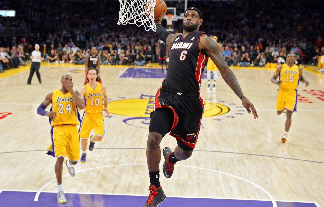 Wallpaper Miami Nba Basketball James Heat Lebron James