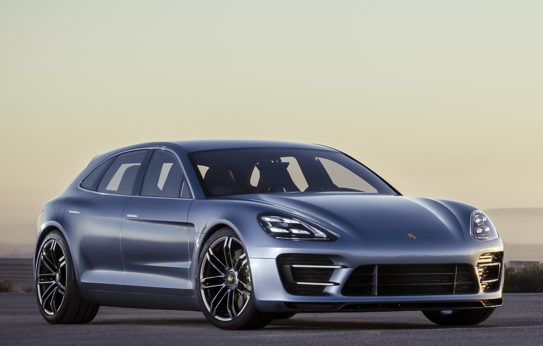Photo wallpaper Concept, Porsche, Panamera, Porsche, the front, Panamera, Sport Turismo