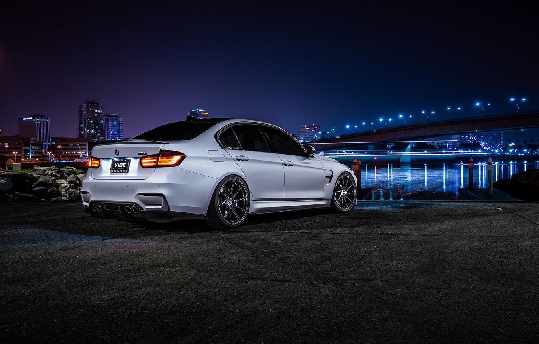 Photo wallpaper BMW, Dark, Wheels, Before, Motors, Rear, Garde, Vibe, F80