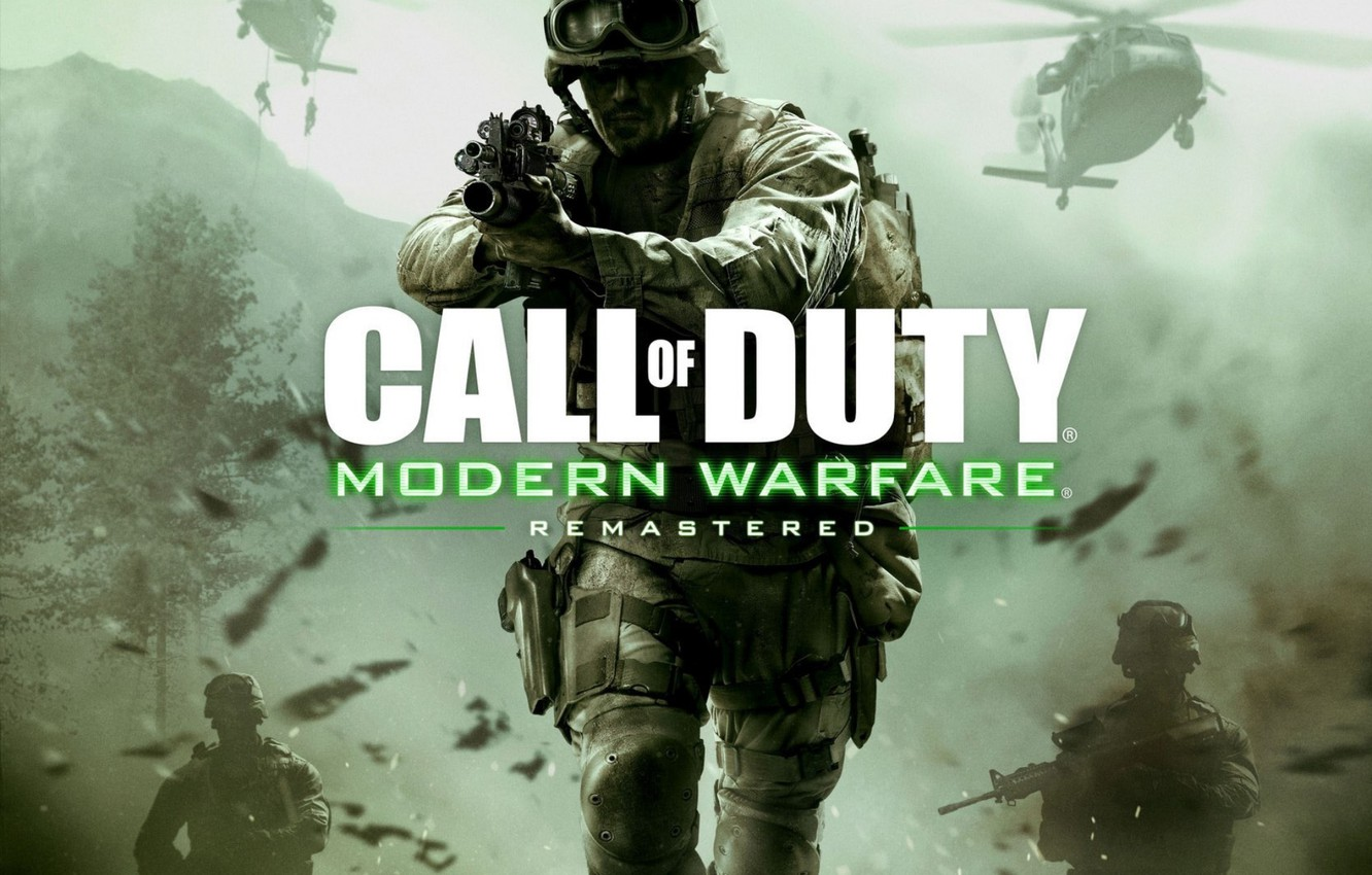 Wallpaper Game Activision Remastered Call Of Duty Modern