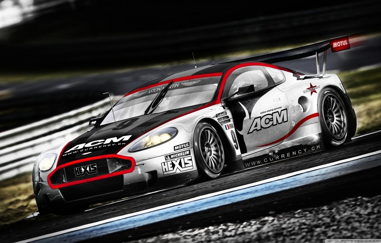 Photo wallpaper sportcar, race, Aston Martin DBR9