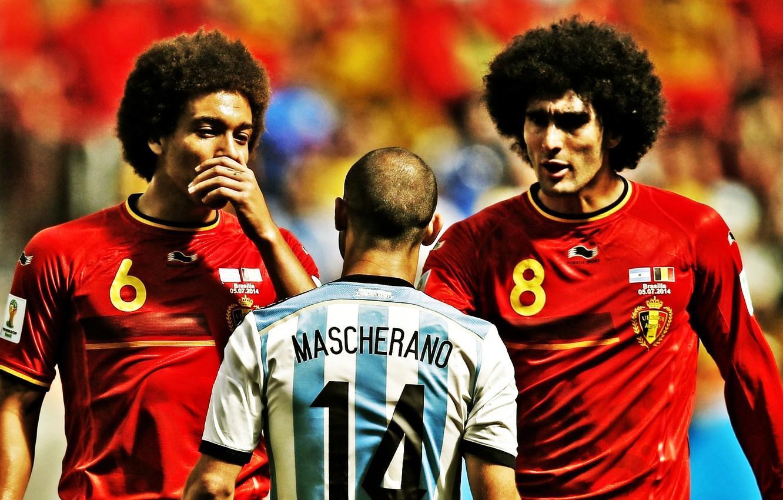 Wallpaper Argentina Belgium Football Brazil Soccer