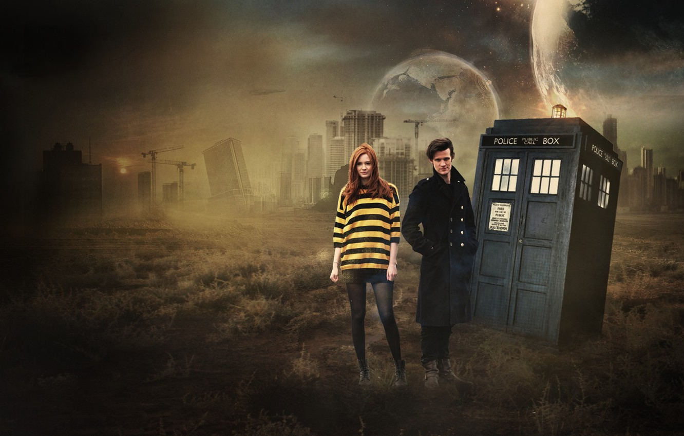 Wallpaper Karen Gillan Matt Smith Eleventh Doctor Who Images
