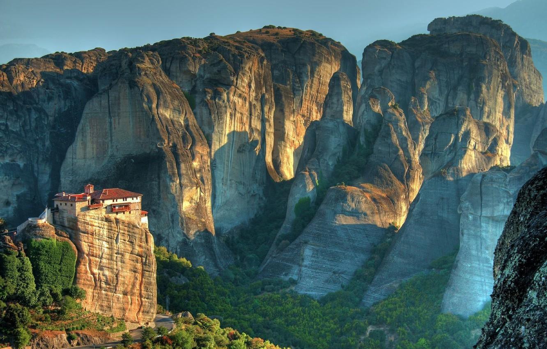 Photo wallpaper open, Mountains, canyon