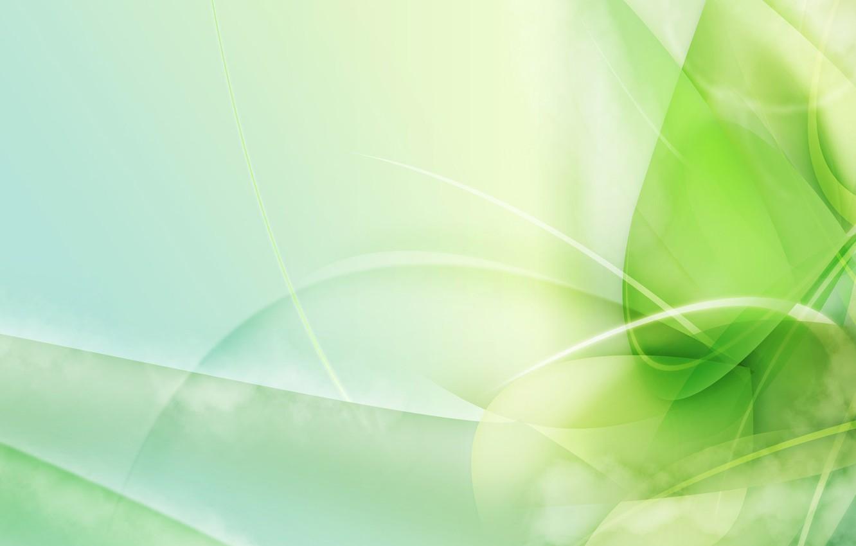 Photo wallpaper line, design, Greens