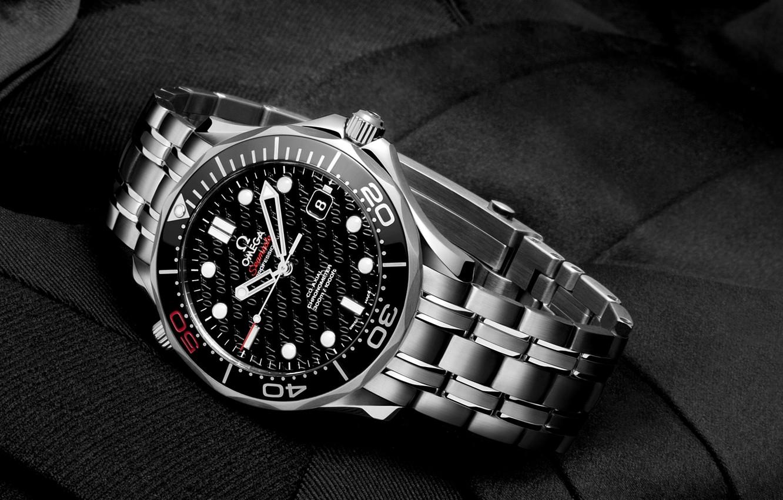 Photo wallpaper Watch, 007, omega, james bond, seamaster