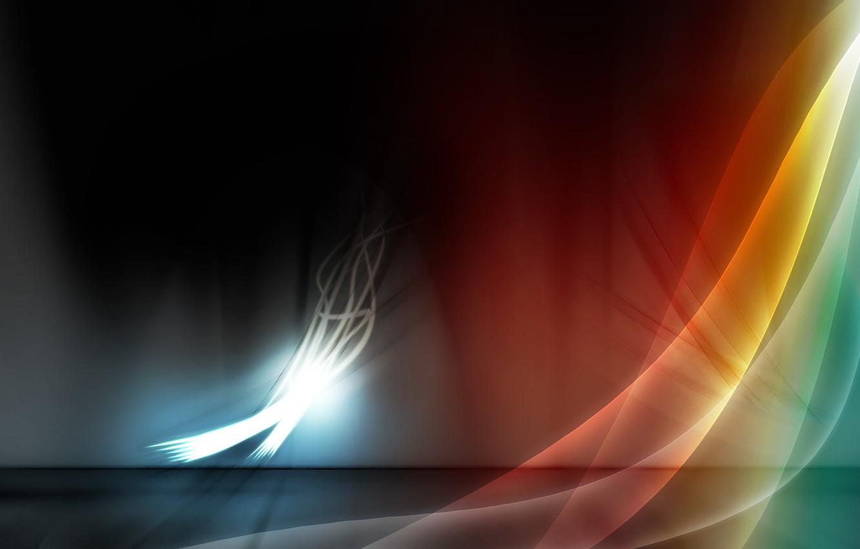 Photo wallpaper light, line, flame, Wallpaper, shadow, bending