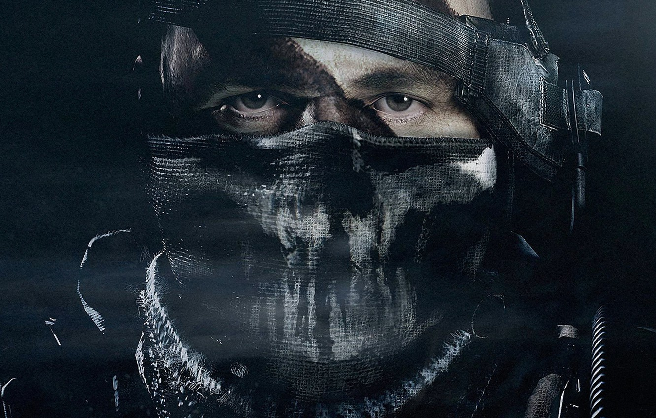 Wallpaper Face Soldiers Mask Activision Infinity Ward Call Of