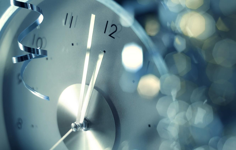 Photo wallpaper watch, new year, 23:59