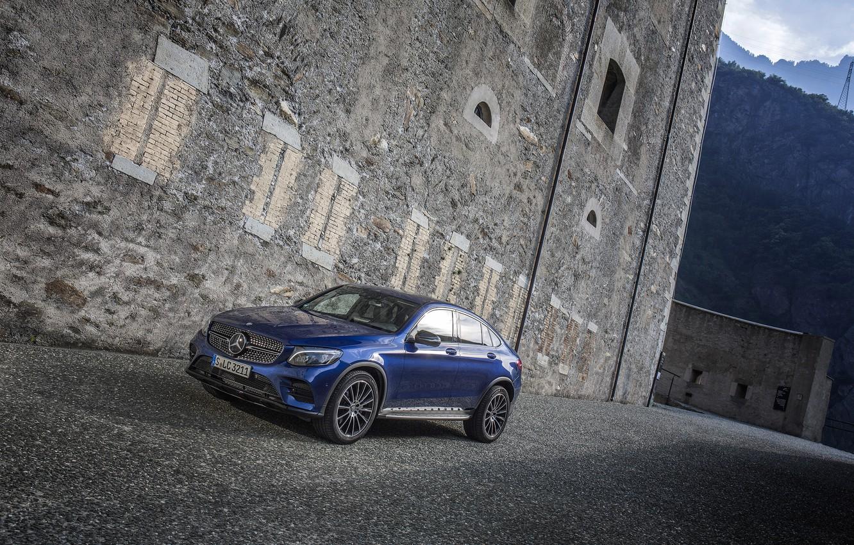 Photo wallpaper Mercedes-Benz, Mercedes, AMG, Coupe, GLC-Class, C253
