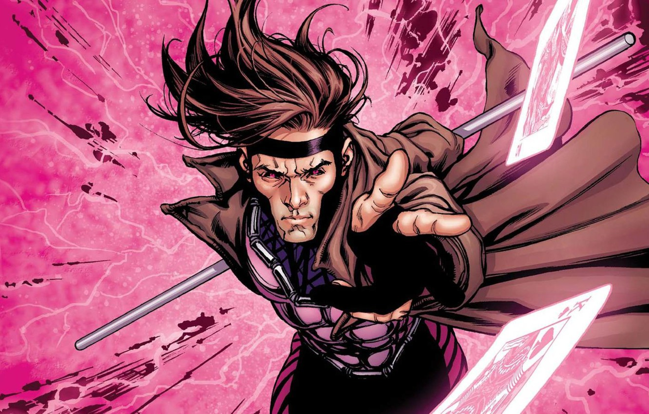 Wallpaper Card Marvel Gambit Gambit Images For Desktop Section Fantastika Download