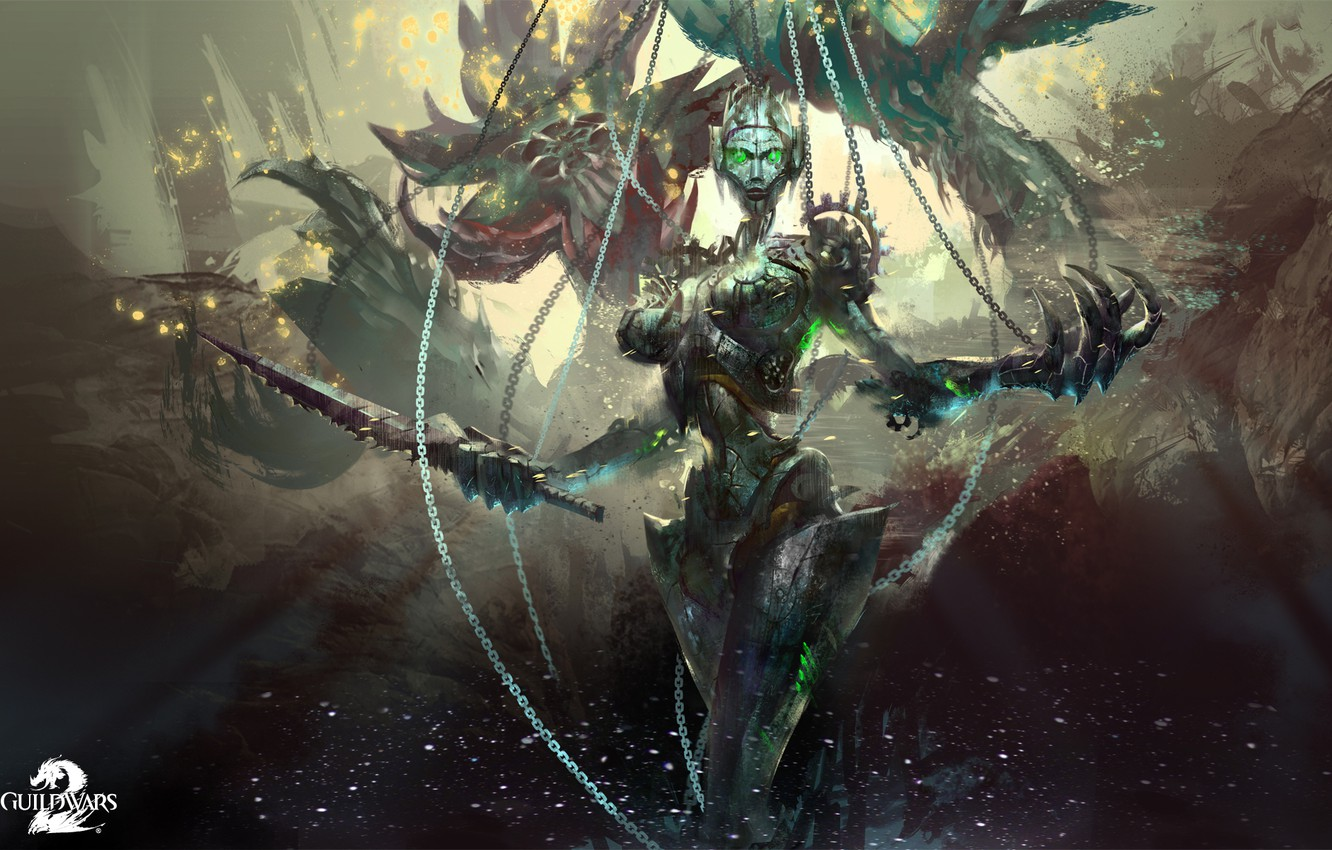 Wallpaper Guild Wars 2 Mmo Gw2 Event Boss Twisted Marionette