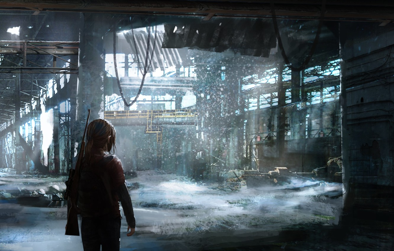 Photo wallpaper girl, sony, art, The Last of Us, Naughty Dog, Ellie