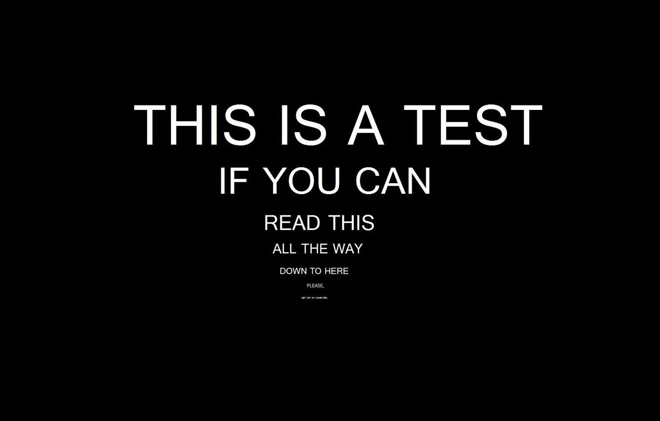 Wallpaper Background Black Text Letters Test Images For