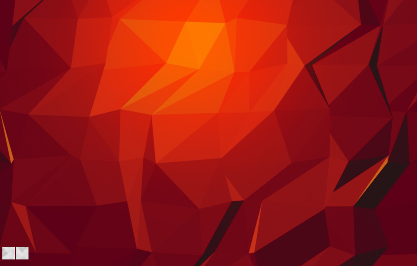 Photo wallpaper Red, Red, Abstraction, Texture, Gradient, Texture, Tringles, Texture, DESIGN, Triangles